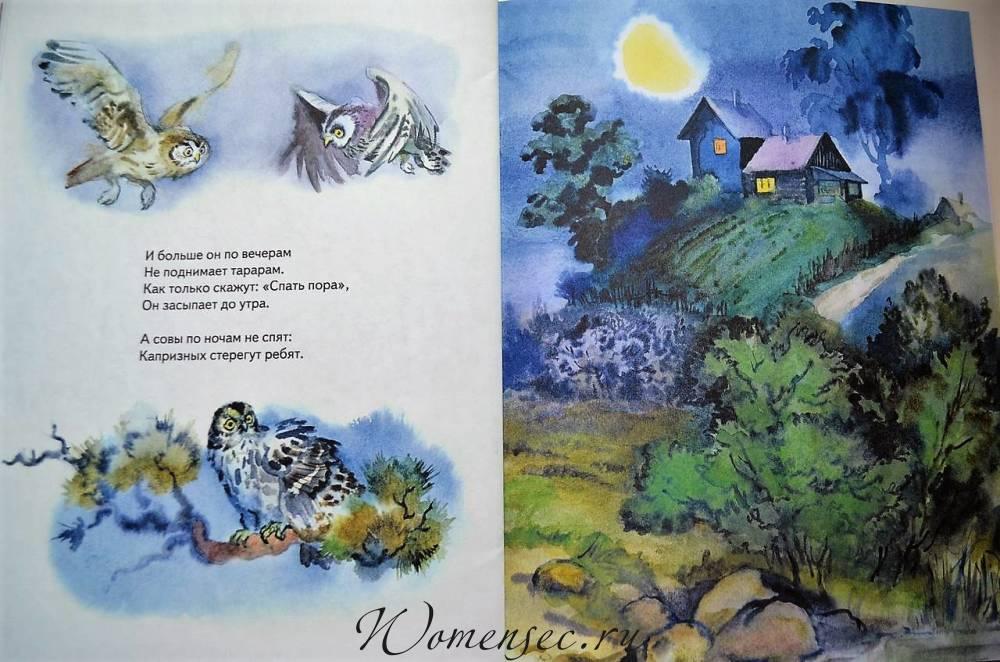 начинка ирина токмакова вечерняя сказка в картинках можно посадить