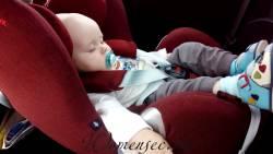 Ребенку 1 год на море на машине